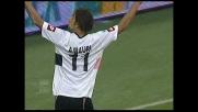 Amauri fa goal sulla respinta di Dida e il Palermo raddoppia contro il Milan