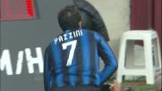 Pazzini va in goal e ristabilisce la momentanea parità al Meazza