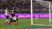 Nainggolan di tacco fermato dal palo con l'Udinese