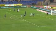 Natalino chiude Zarate, ottimo contrasto a favore dell'Inter