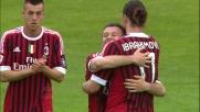 Ibrahimovic realizza il goal per la doppietta al Franchi