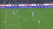 Balotelli si destreggia con tacco e giocate di suola nel big match Napoli-Milan