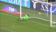 Nel derby con la Lazio Osvaldo fallisce sottomisura e calcia a lato