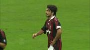 Nel derby di Milano Gattuso ferma Eto'o con un fallo in area di rigore