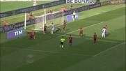 Nel derby di Roma Digne anticipa Klose nel cuore dell'area