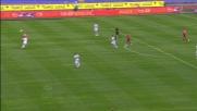 nel derby di Roma Rocchi manca di un soffio la deviazione vincente per la Lazio
