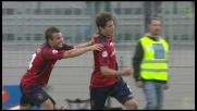 Nené batte Buffon e porta in vantaggio il Cagliari contro la Juventus