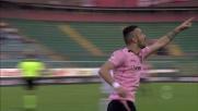 Nestorovski non sbaglia davanti a Donnarumma: il Palermo torna in partita