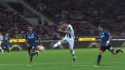 Fantastico goal al volo di Thereau a San Siro contro l'Inter