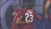 Lamela porta in vantaggio la Roma contro la Lazio