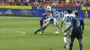 Mauri espulso in Inter-Lazio per un fallo di reazione