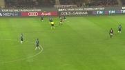 Niang realizza il goal del 3-0 contro l'Inter e fa esplodere di gioia San Siro
