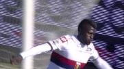 Niang segna di sinistro il goal del momentaneo vantaggio del Genoa a Empoli
