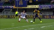 Nico Lopez concede spettacolo con un colpo di tacco contro l'Udinese