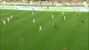 Nico Lopez realizza il goal della bandiera per l'Hellas contro il Milan