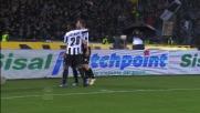 Pinzi chiude in goal il triangolo bianconero al Friuli