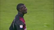 Non è giornata per Niang, destro alto e fuori contro il Cagliari