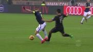 Gustavo Gomez entra duro su Icardi nel derby