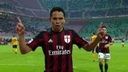 Bacca porta avanti il Milan a San Siro sul Verona