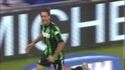 Raddoppio del Sassuolo con la Lazio grazie al goal di Missiroli