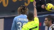 Cavanda in tackle abbatte Maicosuel causando il rigore a favore dell'Udinese