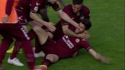 A Livorno Benassi segna il goal del vantaggio sul Bologna