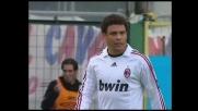 Ronaldo centra il palo in Cagliari-Milan