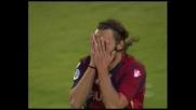 Marchini controlla e calcia, il palo salva l'Udinese
