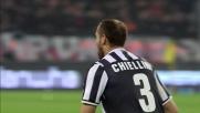 Chiellini, goal di rapina sulla ribattuta della traversa del Milan