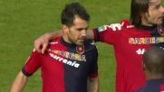 Il rigore di Sau apre le marcature in Cagliari-Torino