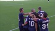 Goal di El Kabir: il Cagliari raddoppia all'Olimpico contro la Roma