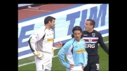 Peruzzi stende Flachi, rigore per la Sampdoria