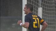 Il Verona cala il poker di goal con il tiro a giro di Juanito Gomez