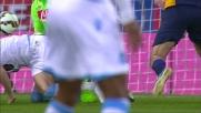 Toni segna un goal di pura caparbietà contro il Napoli