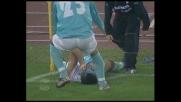 Stankovic di testa firma il pareggio nel derby capitolino