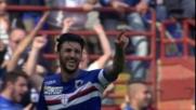 Eder inventa, Soriano finalizza in rete: tripudio Sampdoria a Marassi
