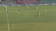 Toni in pallonetto sigla il goal del 2-0 al Mapei Stadium