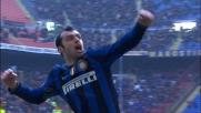 Pandev non sbaglia il goal: Inter in vantaggio sul Cagliari