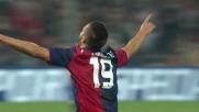 Pavoletti pareggia i conti contro l'Inter con un goal da fuori area