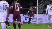 Belotti non perdona al secondo tentativo: Torino in vantaggio sul Cagliari
