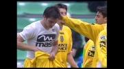 Doppietta di Volpato: goal della vittoria del Siena sull'Udinese