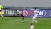 Stop e pallonetto di tacco: fantastico Abel Hernandez