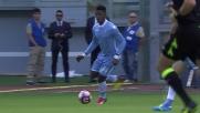 Occasione per la Lazio contro l'Empoli, conclusione in area di Keita va di poco fuori
