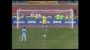 Oddo su rigore segna il goal del 2-0 contro la Sampdoria