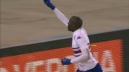 Okaka punisce L'Hellas Verona con un goal di testa