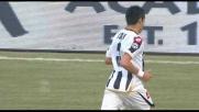Bel goal di Isla davanti a Storari: Udinese di nuovo avanti contro la Sampdoria