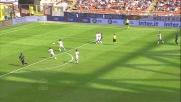 Osvaldo segna il goal del momentaneo pareggio dell'Inter contro il Cagliari