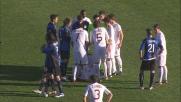 Osvaldo viene espulso per simulazione all'Atleti Azzurri d'Italia