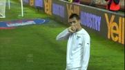Colpo di testa vincente per Klose contro il Lecce