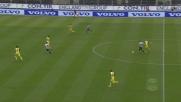 Di Natale di potenza: traversa e poi palla fuori dalla porta in Udinese-Chievo